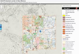 Map New Mexico by Maps