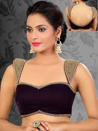 velvet blouse velvet blouse for wear saree at rs 400 velvet
