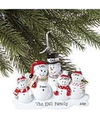 Blank Ornaments To Personalize Amazon Com Our First Christmas Snowman Ornament By Generic Home