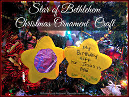 star of bethlehem christmas ornament craft beauty through