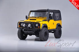 land rover defender lifted 1997 land rover defender 90 90 stock 1997110 for sale near new