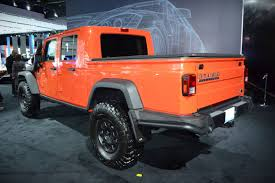 orange jeep rubicon 2019 jeep wrangler pickup news reviews msrp ratings with