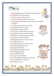 past simple irregular verbs worksheet free esl printable