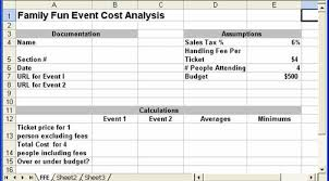 Cost Analysis Excel Template Cit 106 Xl Ppt Integrated Project
