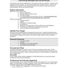 What Should Be In The Summary Of A Resume 100 Resume White Space Amazing Resume Summary Of Qualifications