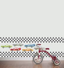 Cheap Wall Border Wall Pops Wps0610 Rally Racers Stripe Wall Decals Decorative