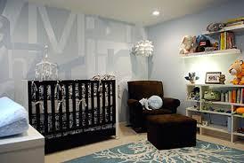 Nursery Room Decor Baby Nursery Decor Modern Style Soft Blue Colored Baby Nursery