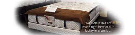 Used Furniture Kitchener Waterloo by Waterloo Mattress Custom Coil And Foam Mattresses Bedding And