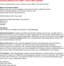 Insurance Agent Resume Examples by Business Broker Cover Letter