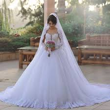 western wedding dresses lace white wedding dress gown appliques tulle country western