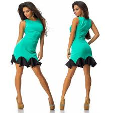 3 colors club dresses new vestidos 2015 women summer bandage