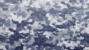Gray Blue Color - abstract animated star shaped paint brush strokes video background