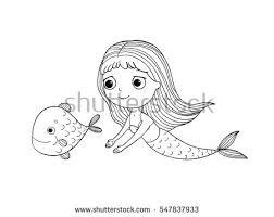 cartoon mermaid stock images royalty free images u0026 vectors