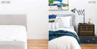 Bedroom Blue And Green Cool Cabin Casual Bedroom Brady Tolbert