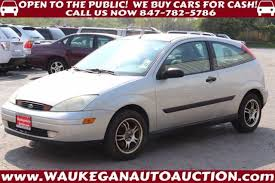 2000 ford focus zx3 used 2000 ford focus zx3 hatchback in waukegan il near 60085