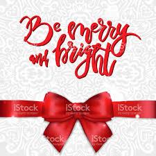 hello ribbon greeting card with satin ribbon and bow calligraphy hello