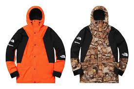 North Face Light Jacket Supreme U0027s Latest The North Face Collaboration Includes Cozy