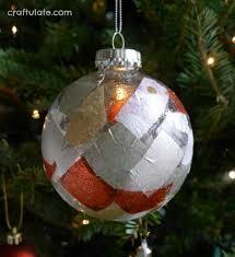 tissue paper ornaments craftulate