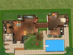 mod the sims 2 honey lane a two story house with 3 bedrooms