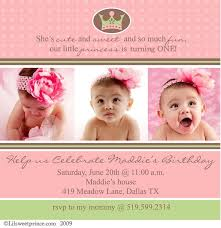 birthday invitation wordings for 1 year old images invitation