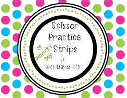 scissor st scissor practice strips st s day pack small tpt