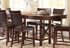 overstock dining room sets dining room tall kitchen table with stools high top dinette sets