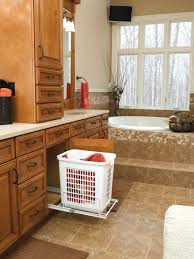 Bathroom Vanity Pull Out Shelves by Pull Out Hamper Tags Bathroom Cabinet With Built In Laundry