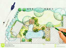 backyard plan beautiful landscape design plans with architect backyard plan villa