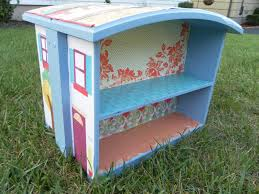 turn old dresser drawers into a dollhouse