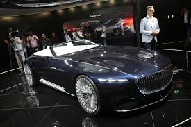 maybach 6 interior mercedes maybach 6 cabriolet has dropped anchor at the frankfurt dock