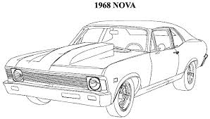 print u0026 download muscle car coloring pages