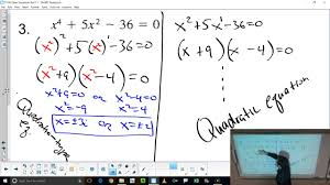 honors algebra 2 trig 1 6 other equations part 1 youtube