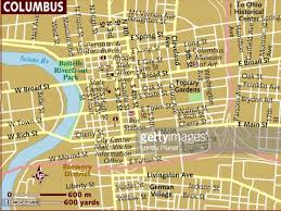 map of columbus map of columbus stock illustration getty images