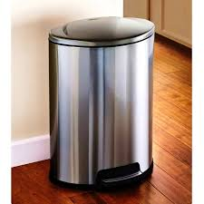 13 gallon kitchen trash can 13 gallon touchless automatic kitchen