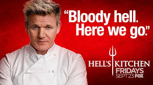 Hell S Kitchen Show News - gordon ramsay on twitter bloody hell here we go again an all