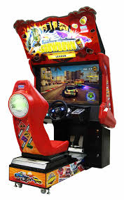 racing arcade games and car driving machines for sale