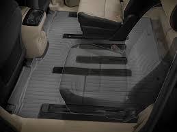 weathertech floorliner floor mat for kia sedona 8 passenger 2015