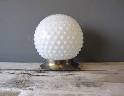 milk glass kitchen lighting milk glass hobnail ceiling light globe fenton other glassware