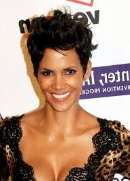 razor cut hairstyle with spiky on top halle berry cool spiked layered razor cut for women styles weekly