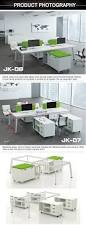 factory wholesale price 4 seat modern office workstation cubicle