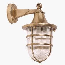 Ship Light Fixture Outdoor Lights Made Of Brass Create A Welcoming Atmosphere
