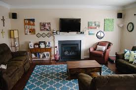 Blue And Brown Living Room by Home Decor Our Updated Living Room Tour Still Being Molly