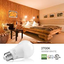 a 19 led bulb 9w 2700k 700lm ul listed led light bulbs 60w
