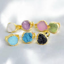 rings natural stones images Natural stone rings malala jewelry jpg
