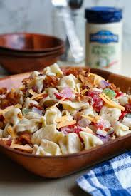 bacon ranch tortellini salad the two bite club
