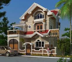 House Photo Two Storey House Two Storey Residential House With Attic Home