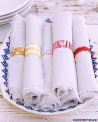 napkin ring ideas patterned napkin rings martha stewart