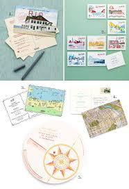 Save The Date Destination Wedding Postcard Themed Destination Wedding Details