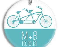 tandem bike etsy