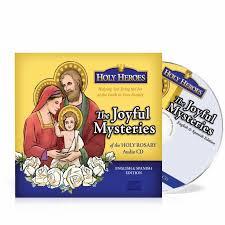 rosary cd heroes cd the joyful mysteries